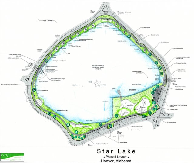 Star Lake Phase 1 layout Oct 2018