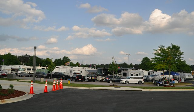 Hoover RV Park May 2017
