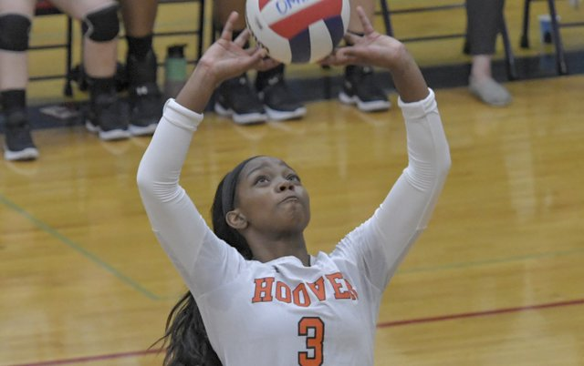Hoover vs. Oak Mountain Volleyball