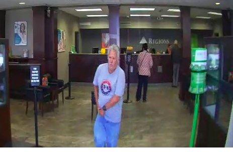 Regions Bank robbery suspect 10-22-18 (2)