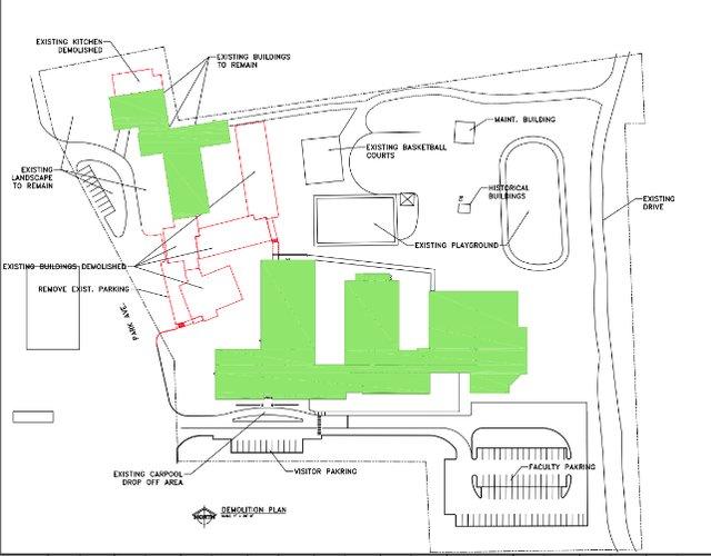 Bluff Park Elem demolition proposal