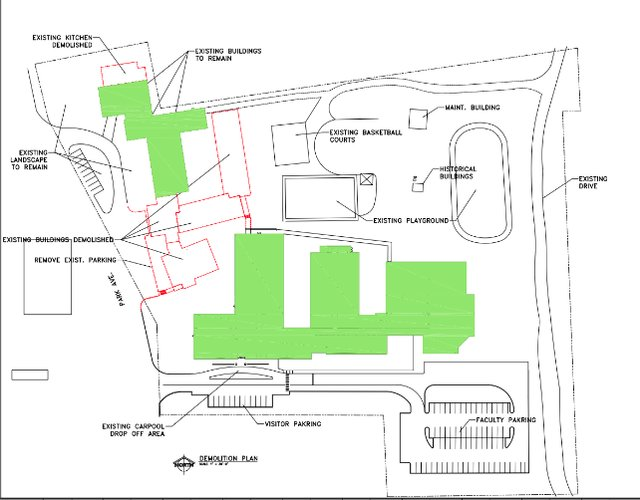 Bluff Park Elem demolition proposal