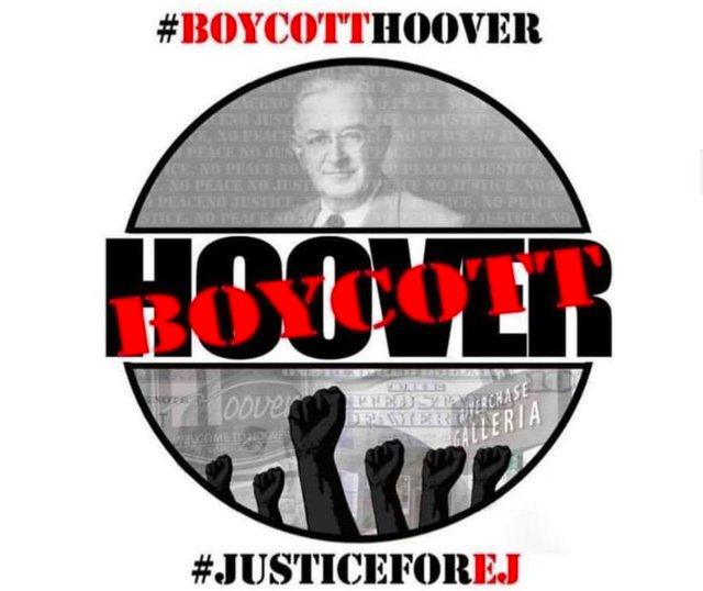 boycott Hoover logo
