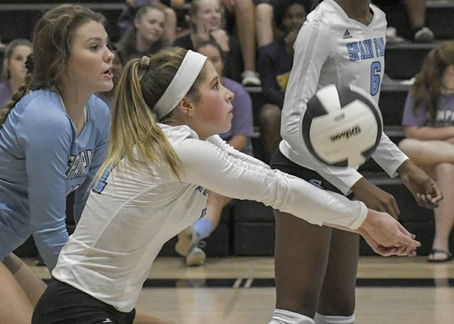 Spain Park vs. Hoover Volleyball