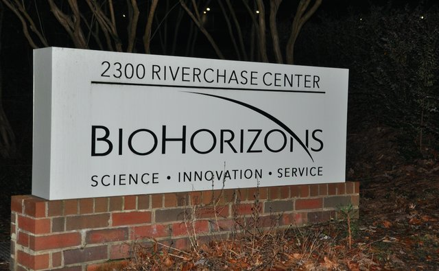 BioHorizons sign