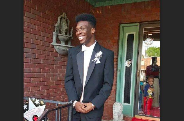 E.J. Bradford prom