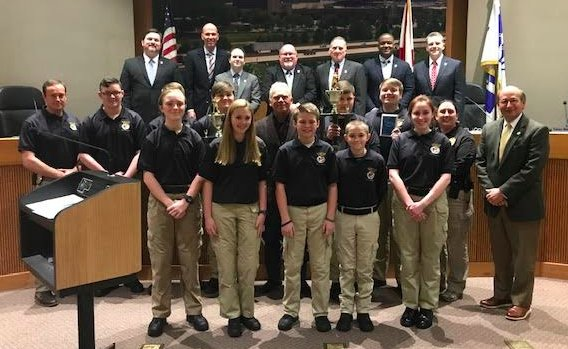 Hoover Police Explorers March 2019