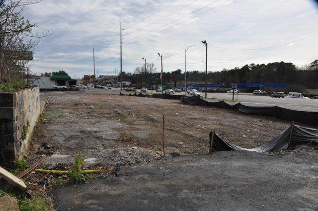 Orange Development strip center site 3-11-19