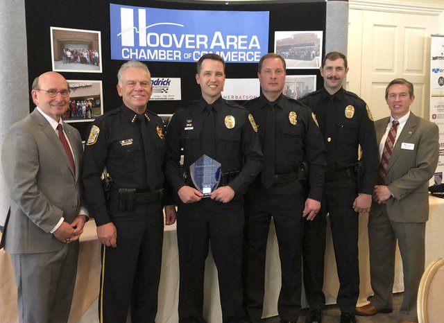 police officer public safety awards 2018 group