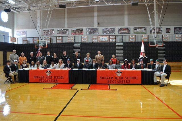 National Signing Day Hoover Group