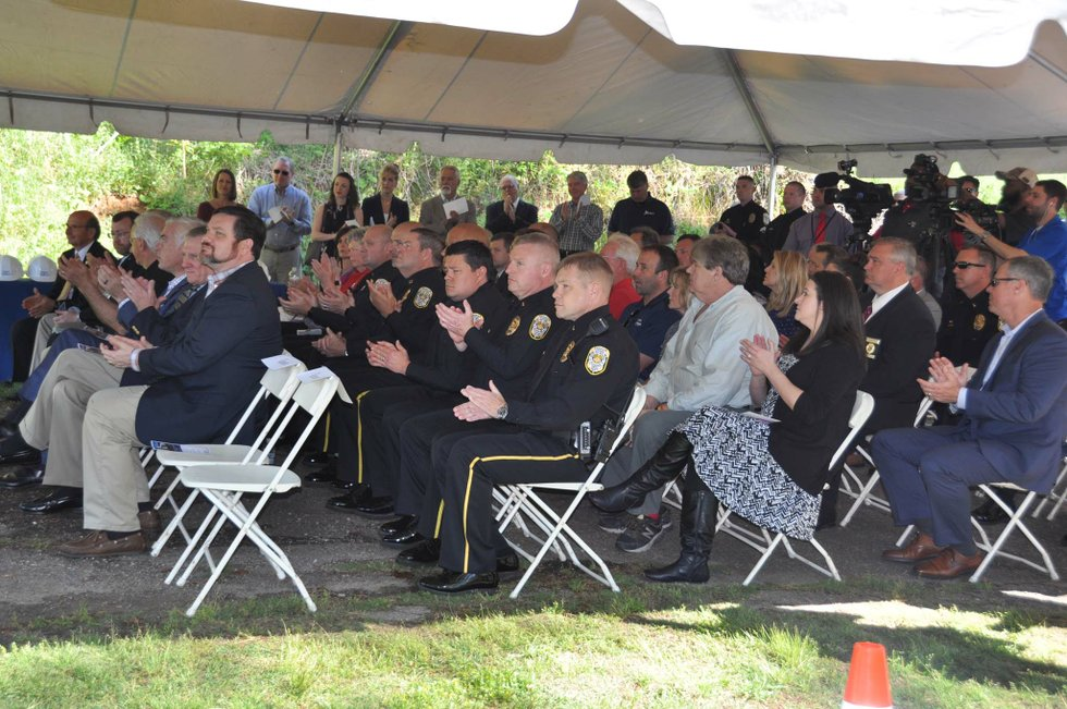 police training center groundbreaking 10
