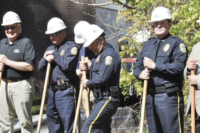 police training center groundbreaking 13