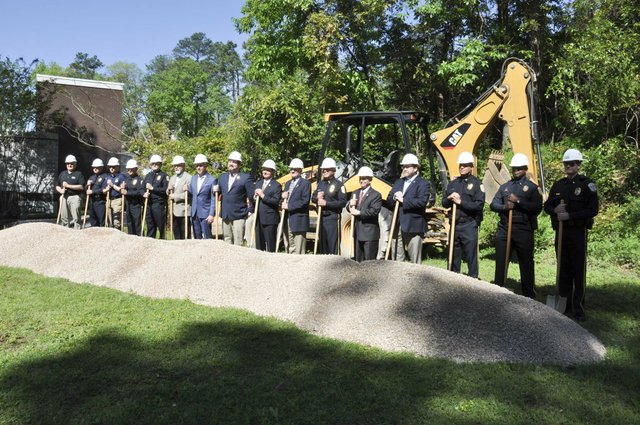 police training center groundbreaking 5