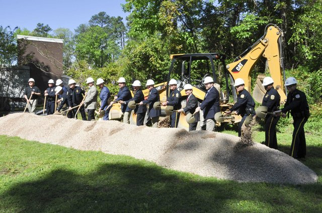 police training center groundbreaking 6