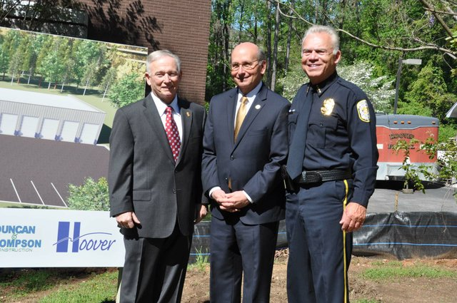 police training center groundbreaking 16