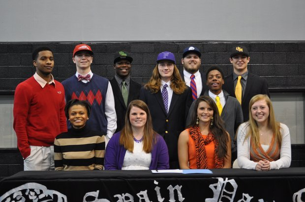 0213 Spain Park Signing Day