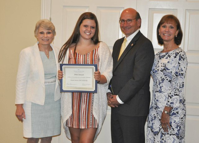 Hoover Service Club 2019 scholarships awards 12