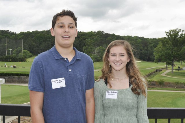 Hoover Service Club 2019 scholarships awards 17