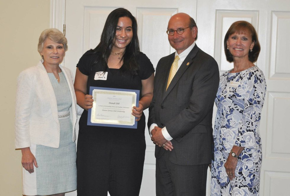 Hoover Service Club 2019 scholarships awards 9