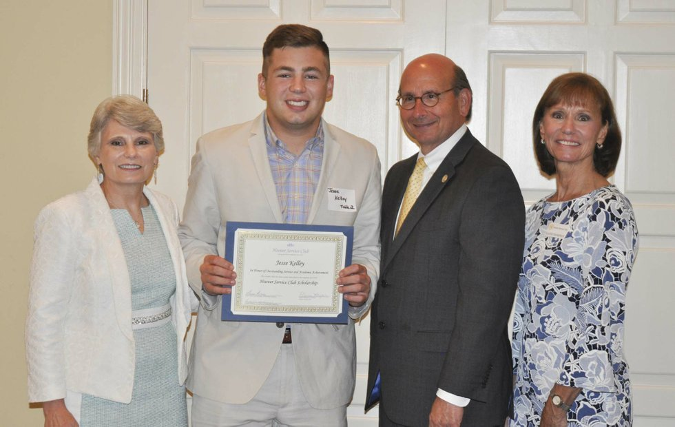 Hoover Service Club 2019 scholarships awards 10