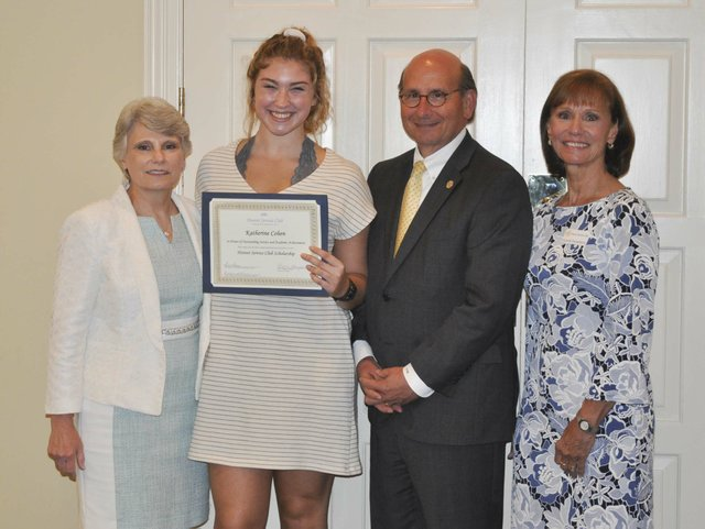 Hoover Service Club 2019 scholarships awards 4