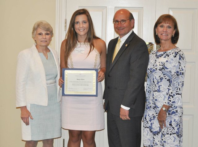 Hoover Service Club 2019 scholarships awards 15