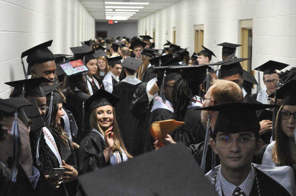 Spain Park 2019 graduation 7
