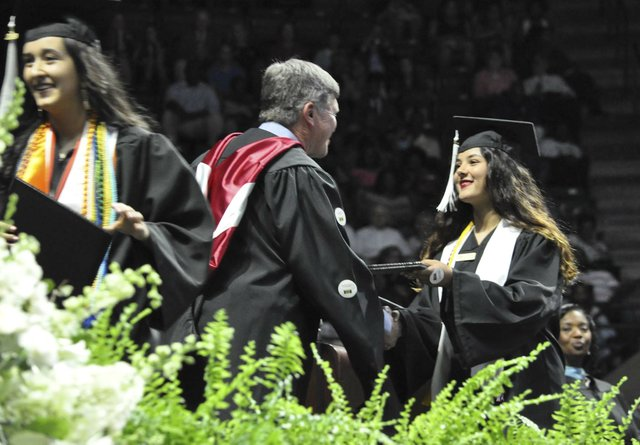 Hoover 2019 graduation 3
