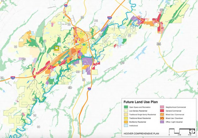 Future land use plan July 2019