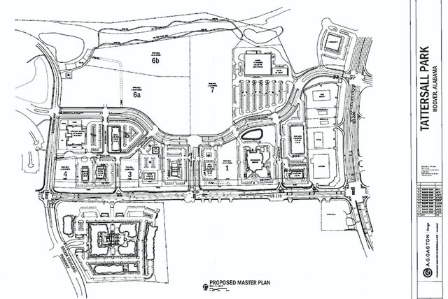 Tattersall Park proposed master plan July 2019