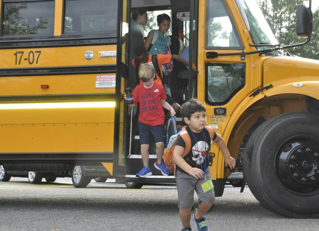 Rocky Ridge school bus 8-14-19