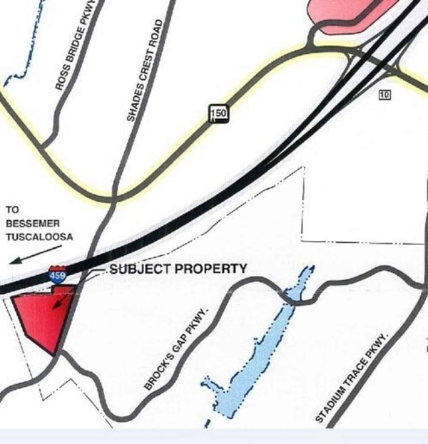 South Shades Crest Road rezoning