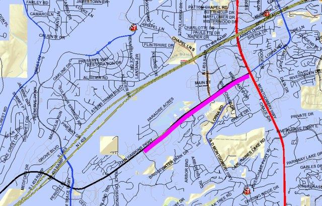 JHP sidewalk map