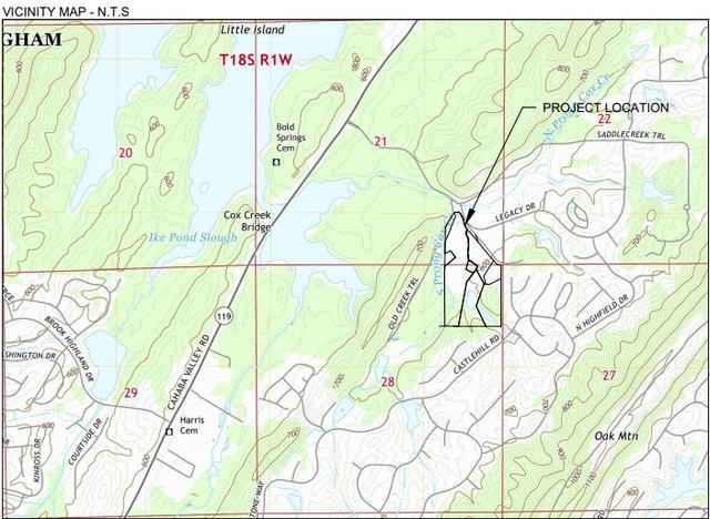 New devt next to Greystone vicinity map