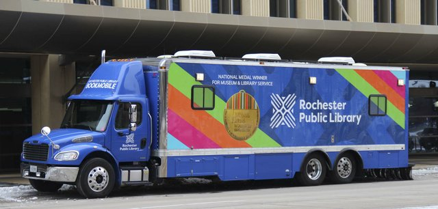 Rochester bookmobile