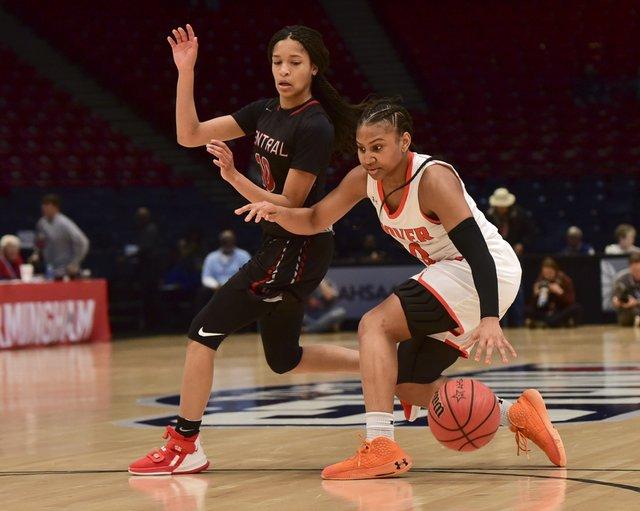 AHSAA State Semifinal girls 7A