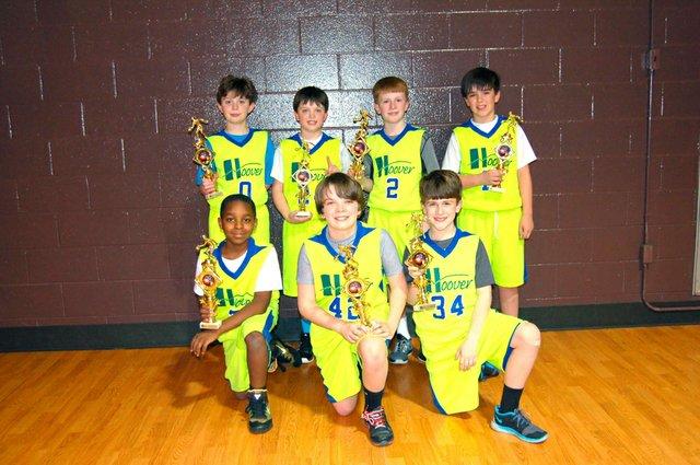 Hoover Rec 4th grade Champions