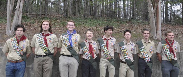 Inverness Eagle Scouts Feb 2020