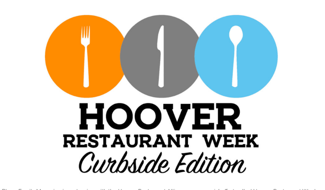 Hoover restaurant curbside promotion