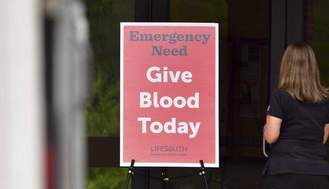 LifeSouth Blood Drive