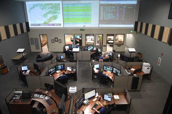 Hoover 911 Communications Center