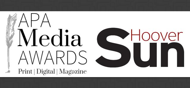 APA Media Awards and Hoover Sun logos