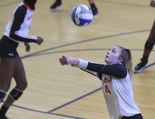 Hoover at Chelsea Volleyball