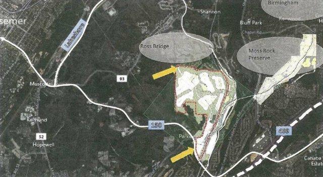 Lake Cyrus North vicinity map