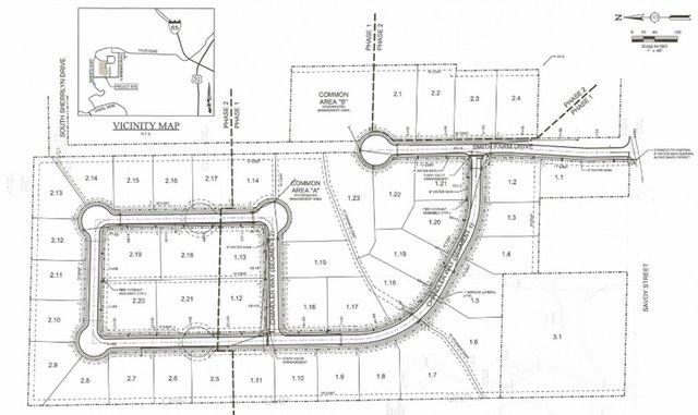 Smith Farm subdivision layout 9-14-20