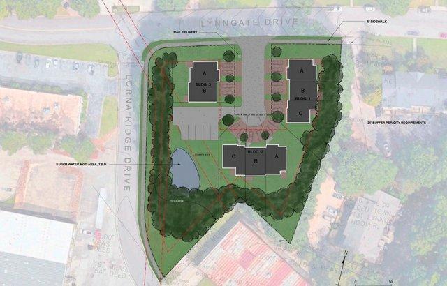 Lynngate town house plan 10-12-20