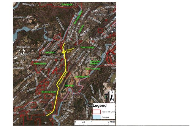 West Hoover Pkwy and Neighborhoods map
