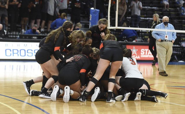 State Volleyball - Hoover vs Spain Park 7A title