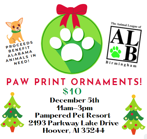 Paw Print Ornaments By The Animal League Of Birmingham Hooversun Com Download transparent paw patrol png for free on pngkey.com. paw print ornaments by the animal