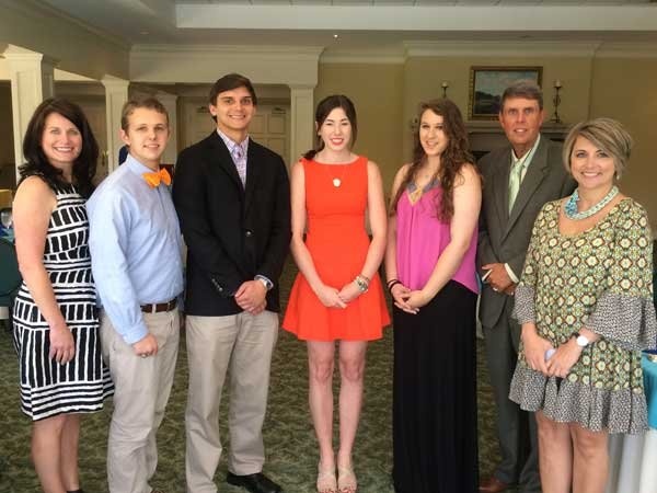 Hoover High scholarship recipients